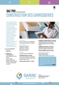 Ancien Bac Pro Carrosserie option Construction