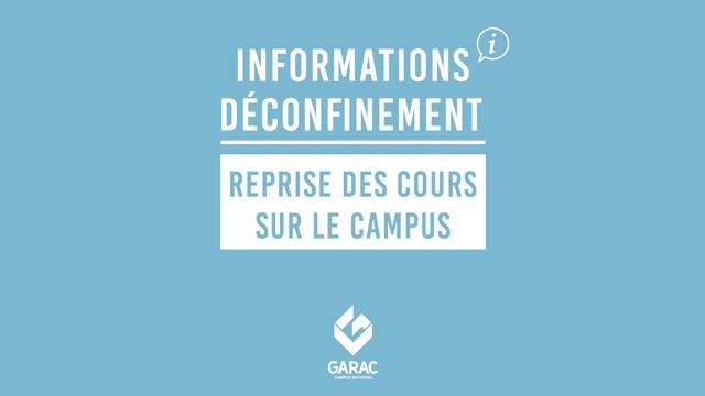 info reprise site GARAC